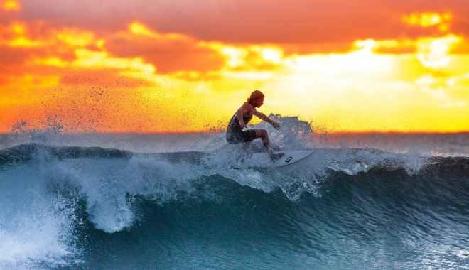 action adventure beach dawn